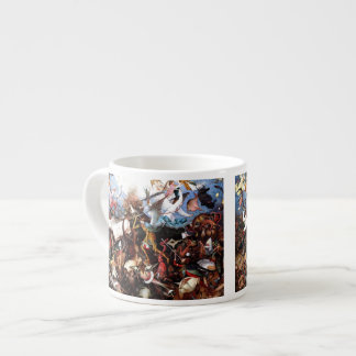"Bruegel's ""The Fall Of The Rebel Angels"" (1562) Espresso Cup"