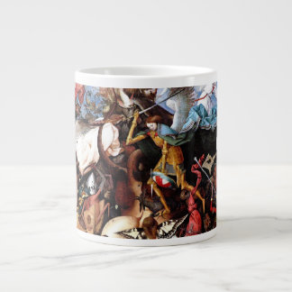 "Bruegel's ""The Fall Of The Rebel Angels"" (1562) Giant Coffee Mug"