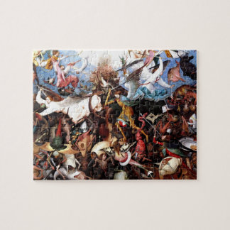 "Bruegel's ""The Fall Of The Rebel Angels"" (1562) Jigsaw Puzzle"