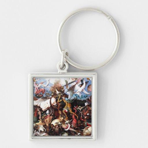 "Bruegel's ""The Fall Of The Rebel Angels"" (1562) Key Chain"