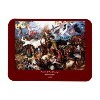 "Bruegel's ""The Fall Of The Rebel Angels"" (1562) Magnet"