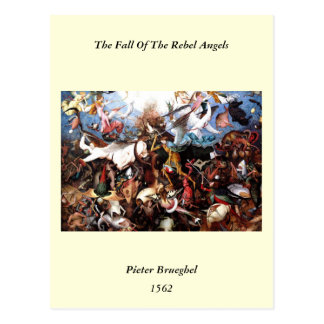 "Bruegel's ""The Fall Of The Rebel Angels"" (1562) Postcards"