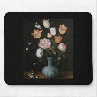 Brueghel el más viejo pedazo de flor mouse pad