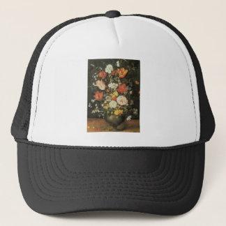 Brueghel the Younger Flowers in a Metal Vase Trucker Hat