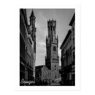 Bruges Belfry Postcard