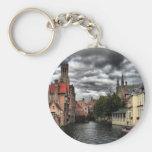 Bruges, Belgium Key Chain