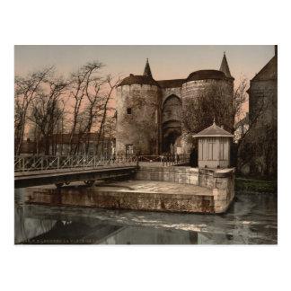 Bruges - Ghent Gate, Belgium Postcard