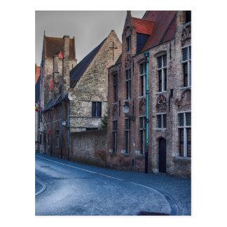 brugge belguim travel tourist Tourism vacation Postcard