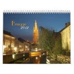 Brugge(Bruges), Belgium Calendar