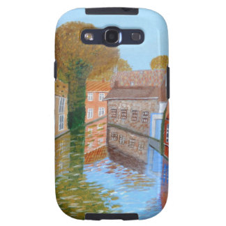 Brugge canal galaxy s3 cover