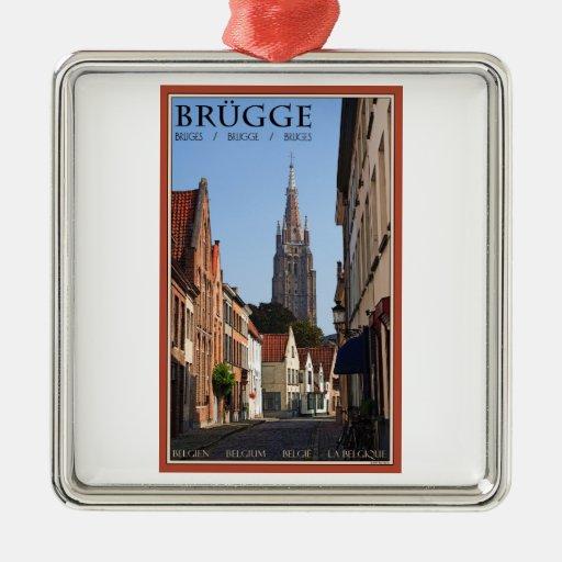 Brugge Metal Ornament
