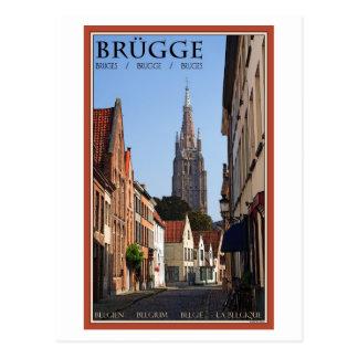 Brugge Postcard