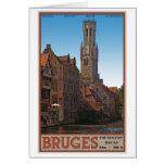 Brugge - The Belfry Card