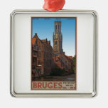 Brugge - The Belfry Christmas Tree Ornament