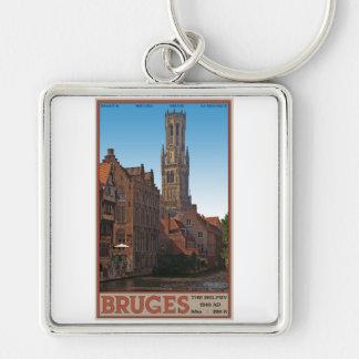 Brugge - The Belfry Keychain