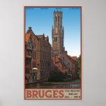 Brugge - The Belfry Print