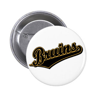 Bruins in Gold and Black Button