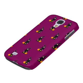 Bruise Purple Halloween Toddler Witch Galaxy S4 Case
