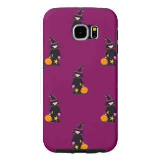 Bruise Purple Halloween Toddler Witch Samsung Galaxy S6 Cases