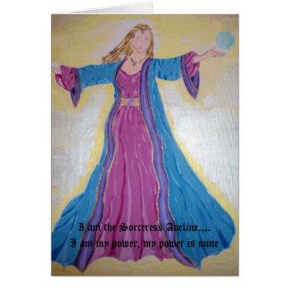 Bruja Aveline Tarjeta De Felicitación