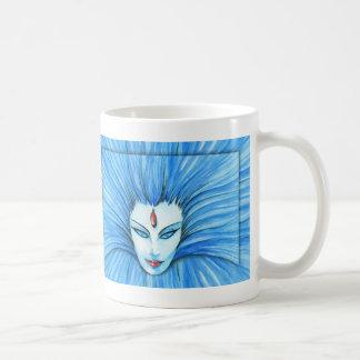 Bruja azul taza de café
