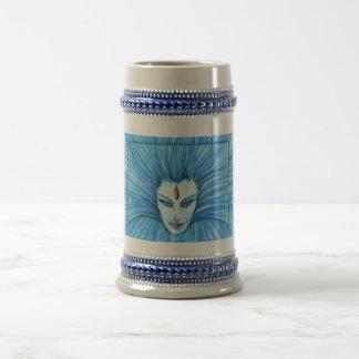 Bruja azul taza