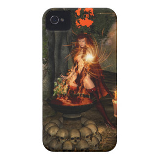 Bruja de Beuatiful Case-Mate iPhone 4 Carcasas