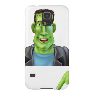 Bruja de Frankenstein que señala abajo Carcasas De Galaxy S5