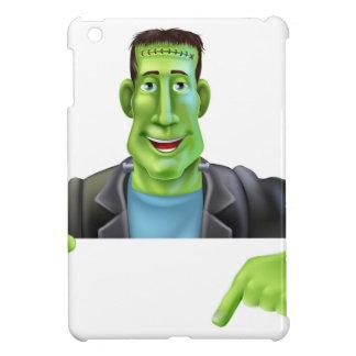Bruja de Frankenstein que señala abajo