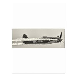Bruja de Grumman F6F Tarjeta Postal