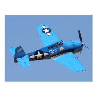 Bruja de Grumman F6F Tarjetas Postales