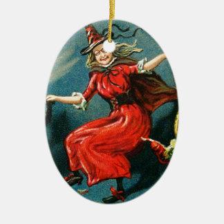 Bruja de Halloween del baile Adornos De Navidad