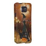 Bruja de Halloween del otoño Galaxy S2 Fundas