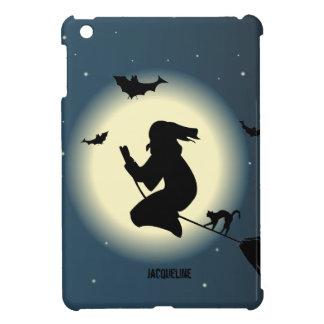 Bruja de Halloween en caso del iPad de la acción m iPad Mini Carcasas