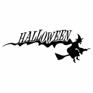 Bruja de Halloween Escultura Fotografica