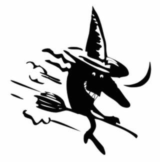 Bruja de Halloween Esculturas Fotográficas