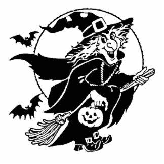 Bruja de Halloween Esculturas Fotograficas