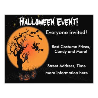 Bruja de Halloween Tarjeta Publicitaria