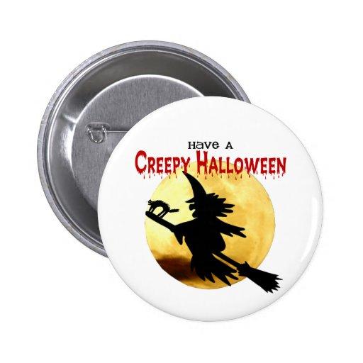 Bruja de Halloween Pins