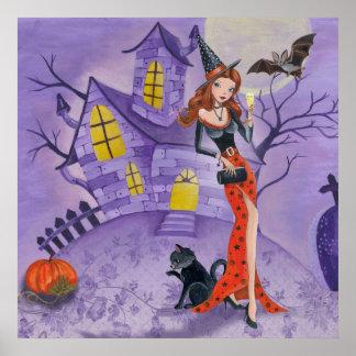 Bruja de Halloween - poster