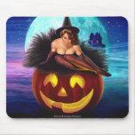 """""""Bruja de Halloween """" Tapete De Ratones"""