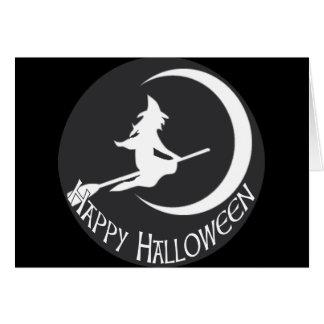 Bruja de Halloween Tarjeta De Felicitación