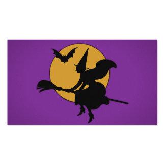 Bruja de Halloween Tarjetas De Visita