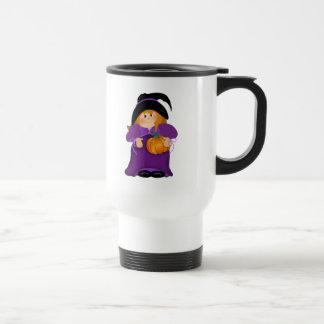 Bruja de Halloween Tazas De Café