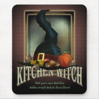 Bruja de la cocina tapete de raton