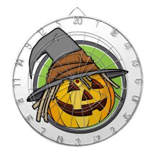 Bruja de la Jack-O-Linterna del feliz Halloween