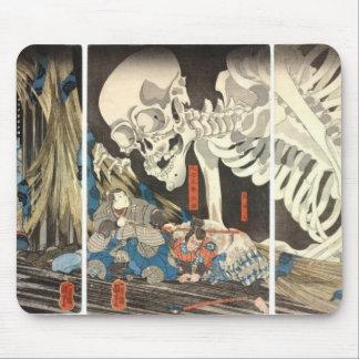 Bruja de Takiyasha y el mousepad esquelético del e Tapetes De Ratones