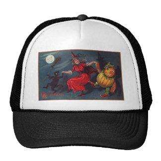 Bruja del baile de Halloween Gorro