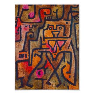 Bruja del bosque de Paul Klee Fotografías