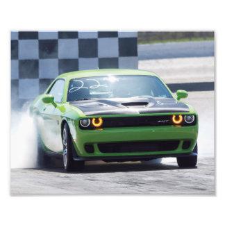 Bruja del desafiador de Dodge Impresión Fotográfica